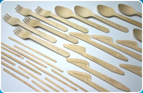 the GoodLife® range of organic wooden cutlery can fulfi your environmental requirements.